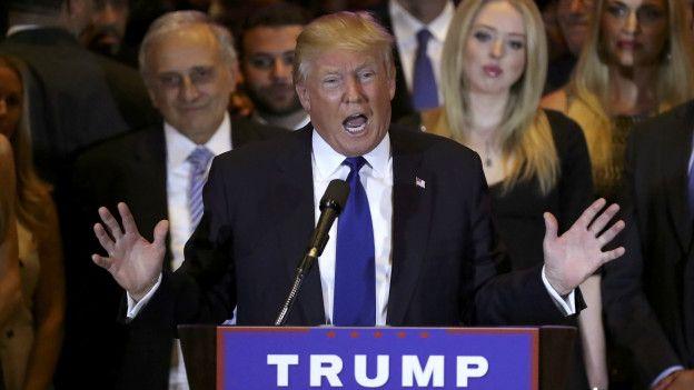 Trump recibe su primer revés electoral en unas primarias en Alabama
