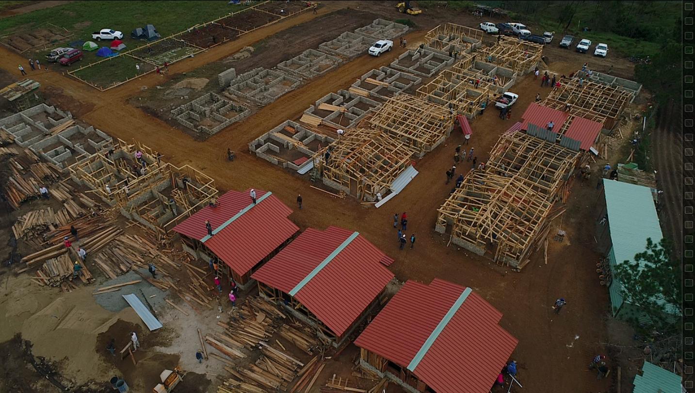 Medio Ambiente avanza construcción de Villa para ocupantes de Valle Nuevo