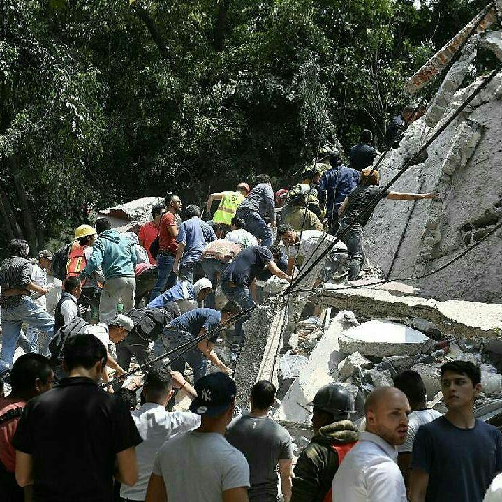 Autoridades corrigen cifra de víctimas del sismo en México y la sitúan en 149