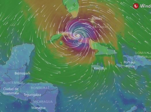 El huracán Irma se degrada a categoría 3 pero recuperará fuerza rumbo a EEUU