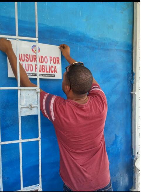 Ministerio de Salud cierra la planta procesadora de agua Gómez-Lorenzo
