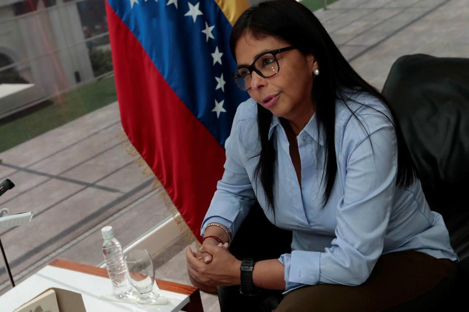 Delcy Rodríguez: la oposición venezolana atiende
