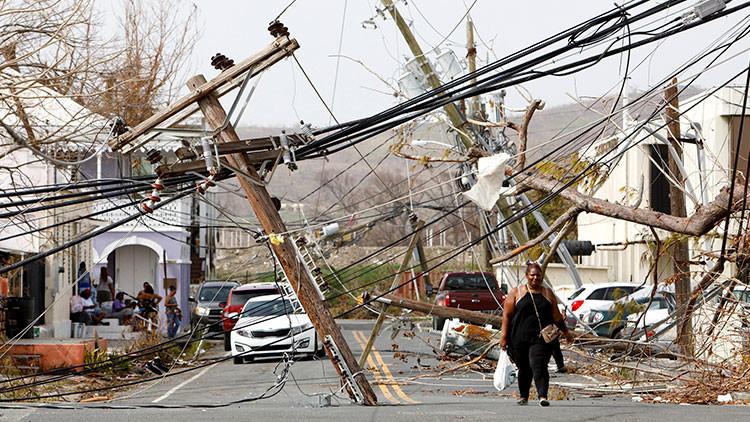 María recupera fuerza y se convierte de nuevo en huracán