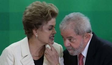Fiscalía denuncia ante el Supremo a Lula y Rousseff por asociación ilícita