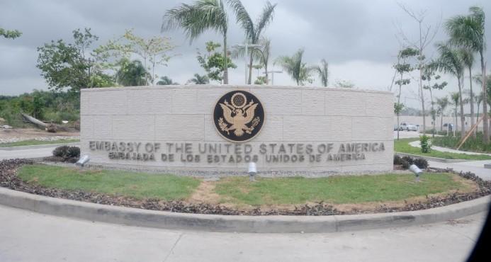 Embajada de los  EEUU estará cerrada el jueves debido al paso del huracán Irma