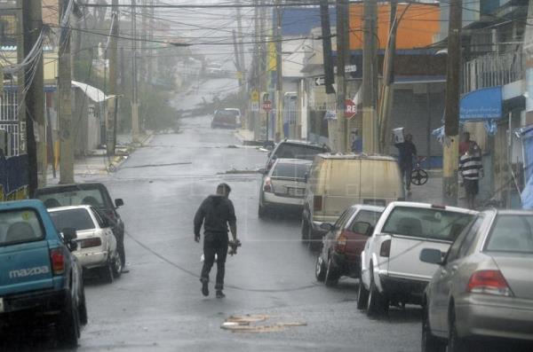 Puerto Rico reporta primera muerte por huracán María en la isla
