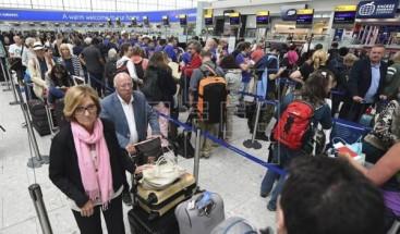 Un fallo informático en varias aerolíneas causa largas esperas en Heathrow