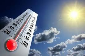 Temperaturas calurosas y escasas lluvias en gran parte de la geografía nacional