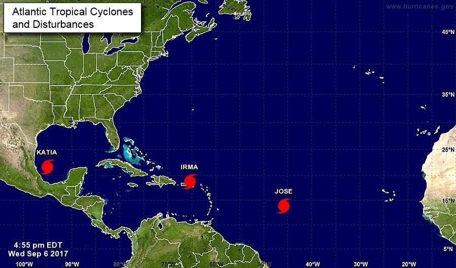 Huracán Irma entra en territorio de Puerto Rico