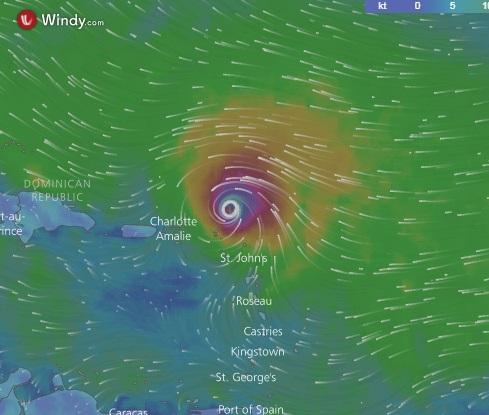 José sigue su avance hacia el noreste del Caribe como huracán de categoría 4