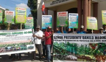 Asociación de Ganaderos de Maimón piden al presidente evitar sean desalojados del lugar agrario que ocupan