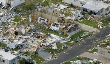 Barbuda, una isla vacía e inhabitable tras el paso del huracán Irma