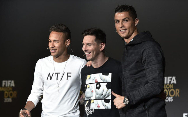 Cristiano, Messi y Neymar pugnarán en Londres por ser 'The Best'