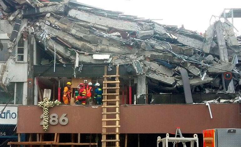 Suman 343 los muertos por el terremoto del 19 de septiembre en México