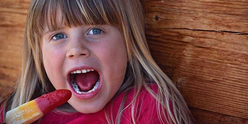 Postres frescos y saludables para niños