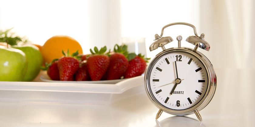¿Cuándo es mejor tomar fruta?