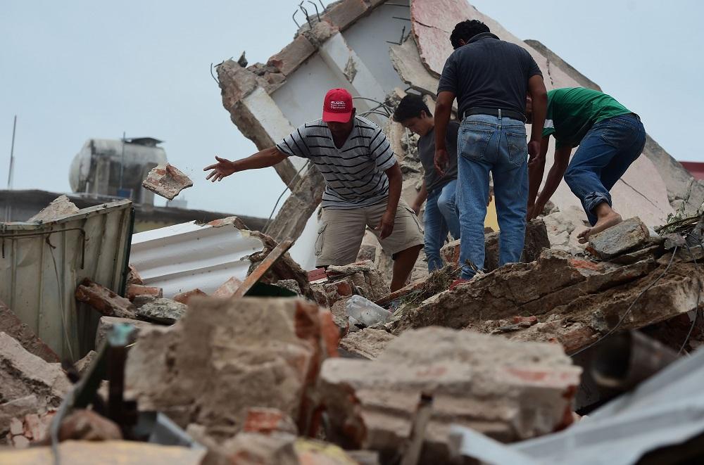 Suben a 331 los muertos por el terremoto del 19 de septiembre en México