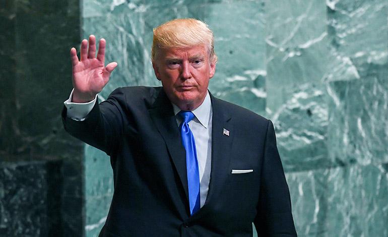 Trump ofrece apoyo al pueblo mexicano tras fuerte sismo en Ciudad de México