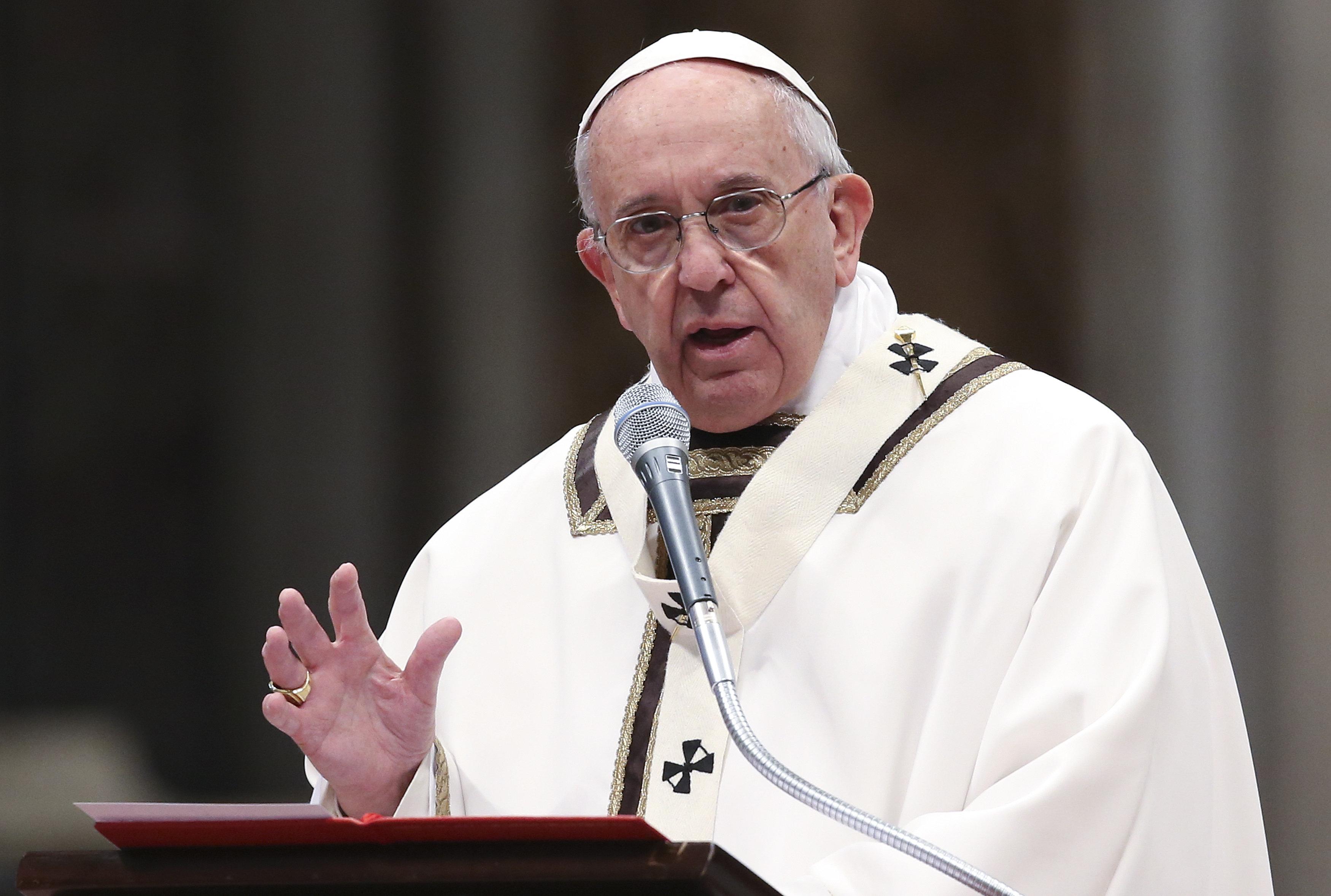 El papa denuncia que la corrupción es