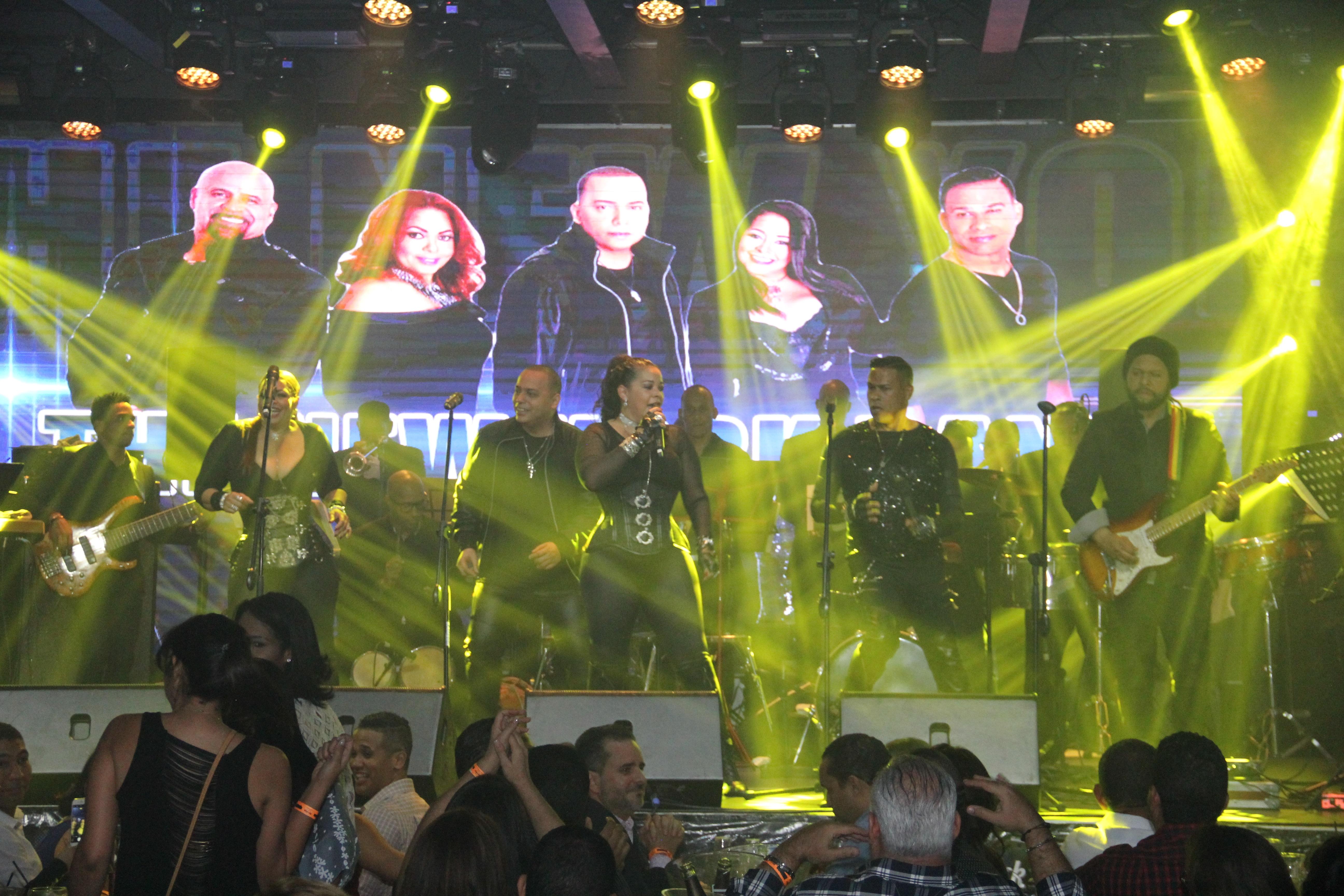 The New York Band estremece Hard Rock Live con su nuevo espectáculo