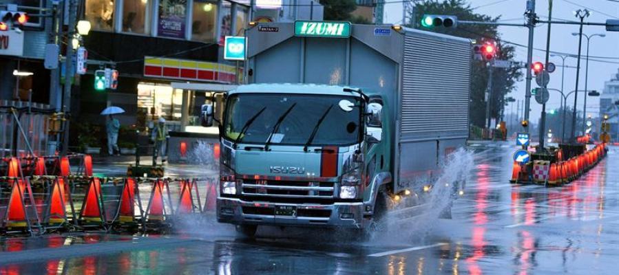 Al menos 6 muertos en Japón por el paso del potente tifón Lan