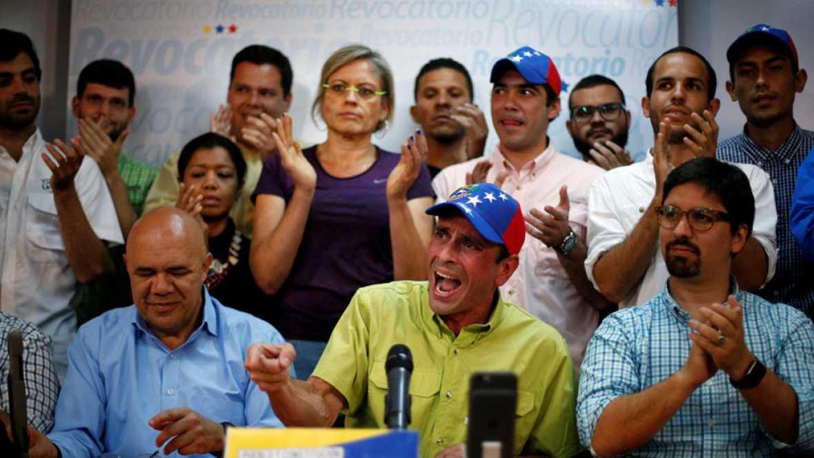 Oposición venezolana no irá a municipales y se plantea elegir un líder único