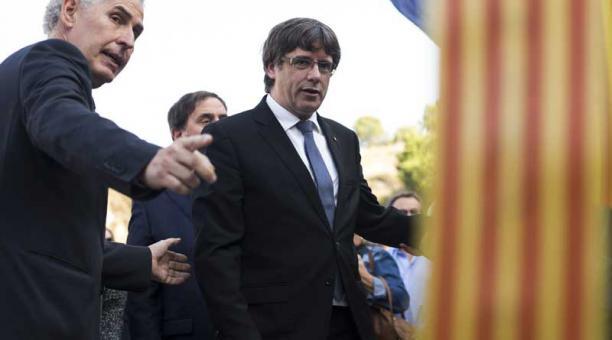 El presidente de Cataluña acudirá mañana al Senado español