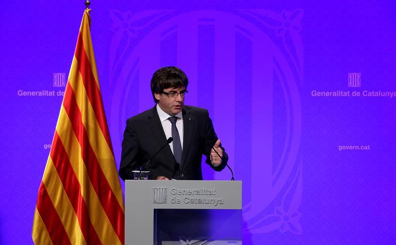 Presidente catalán dice que declarará la independencia