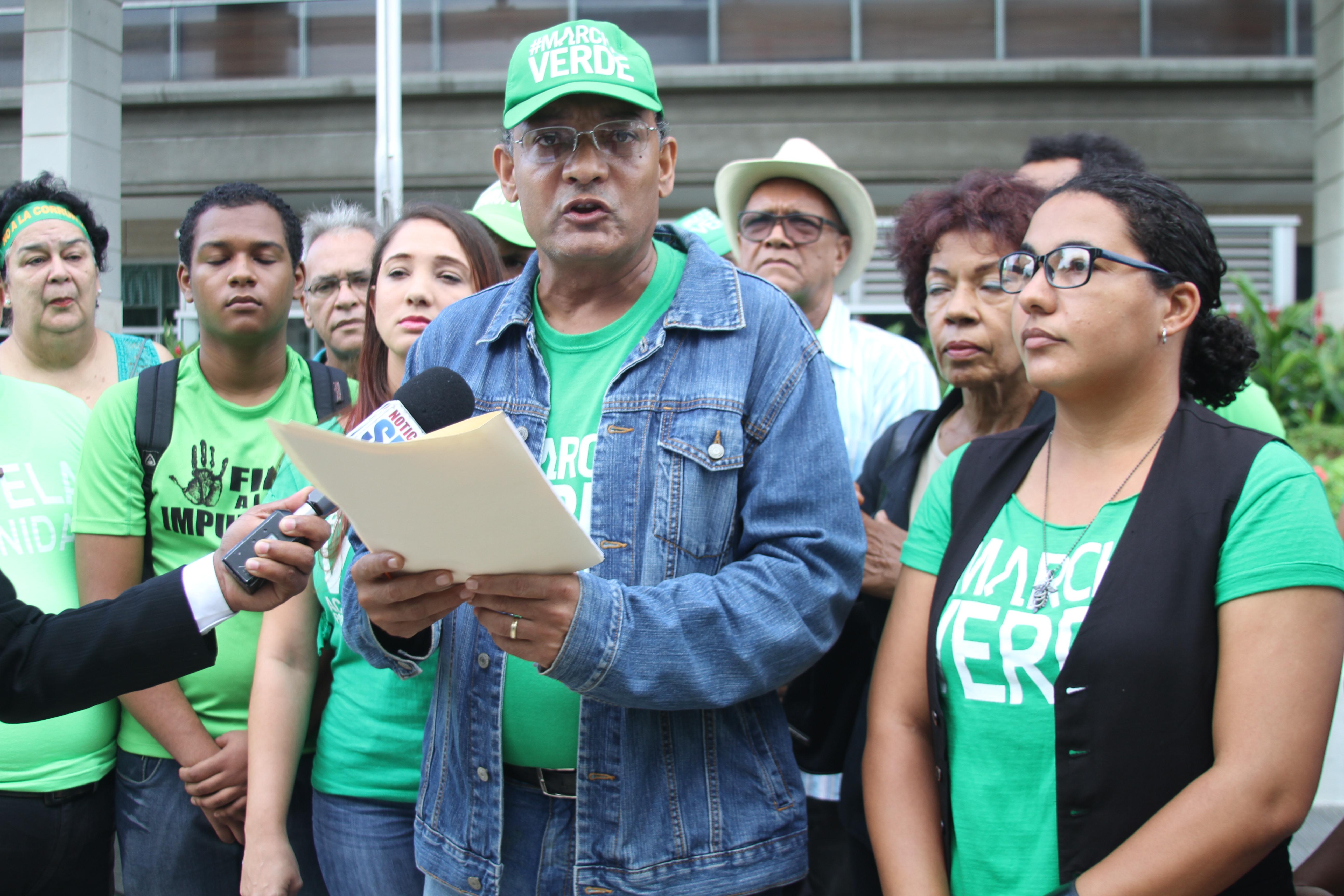 Marcha Verde convoca a la ciudadanía a jornada nacional de movilización por el fin de la impunidad