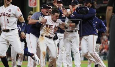 Bregman pone a los Astros a un triunfo de ganar la Serie Mundial
