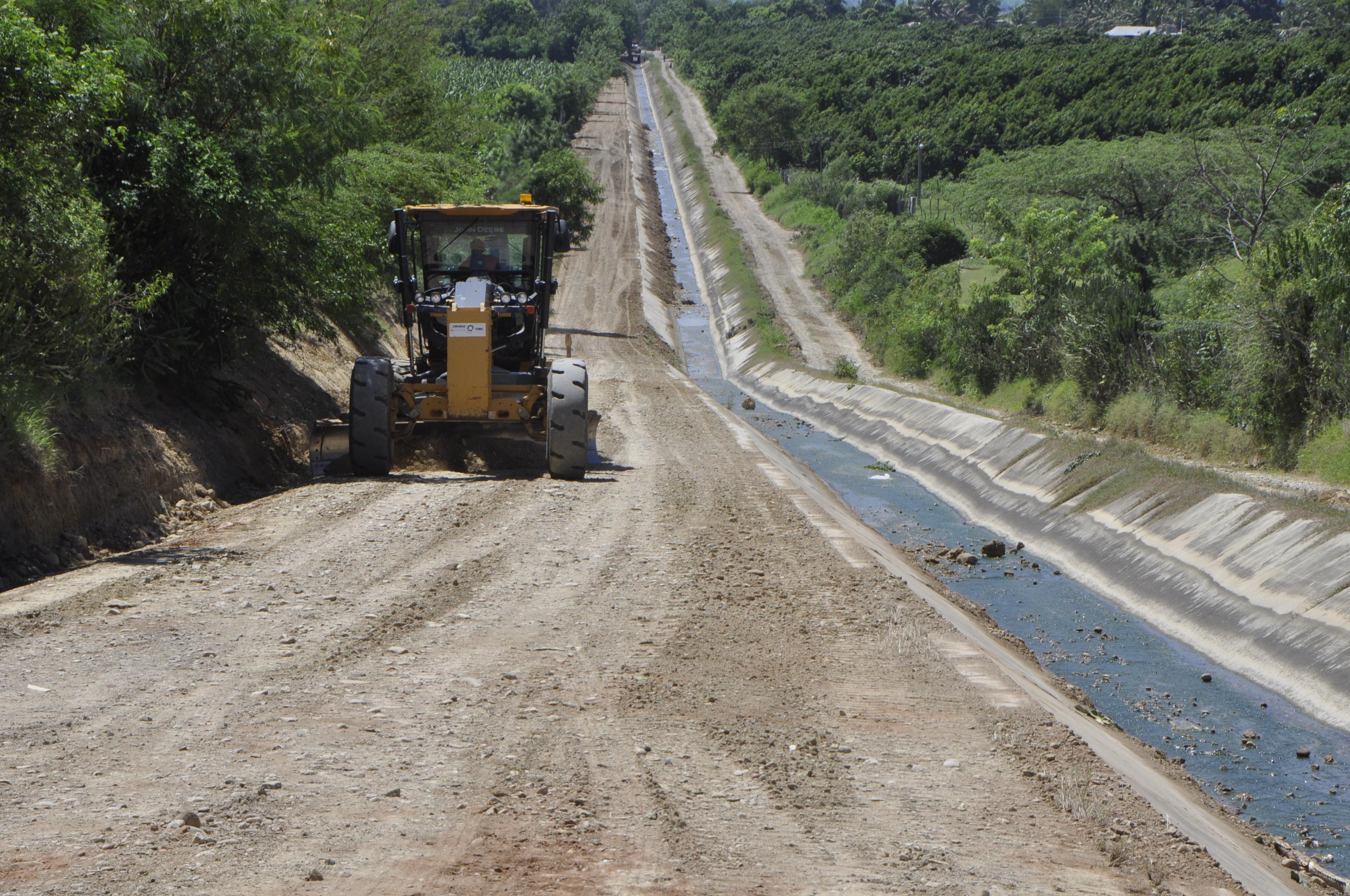 INDRHI trabaja en la rehabilitación de los sistemas de riego de la provincia Valverde