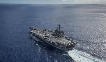 EEUU despliega tres portaaviones en el Pacífico y niega que sea por Pyongyang