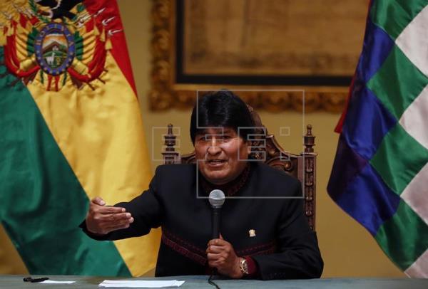 Evo Morales cuenta con aprobación del 57 %, pero crece la desaprobación al 39 %