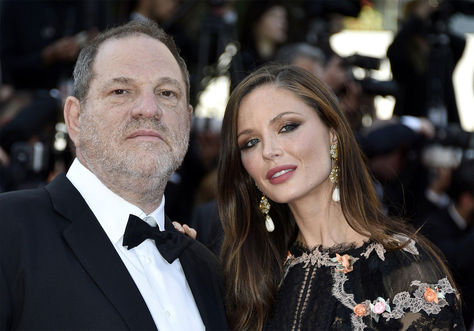 La esposa del productor de Hollywood Harvey Weinstein anuncia su separación