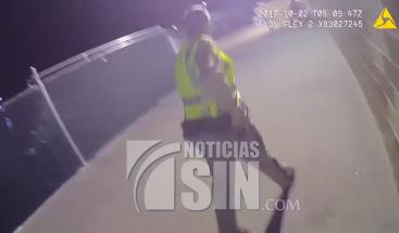 Policías de Las Vegas difunden grabaciones de masacre