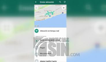 Whatsapp ya permite la ubicación en tiempo real
