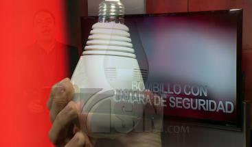 El bombillo que funciona como cámara de seguridad