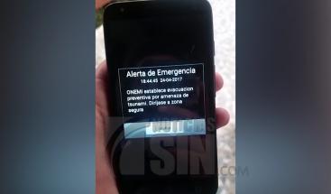 Aplicación móvil que emite aviso antes de un sismo