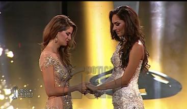 Pasarela del Miss Perú se convierte en escenario para denunciar actos de violencia contra la mujer