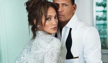 La foto candente que protagonizan Jennifer López y Alex Rodríguez para Vanity Fair