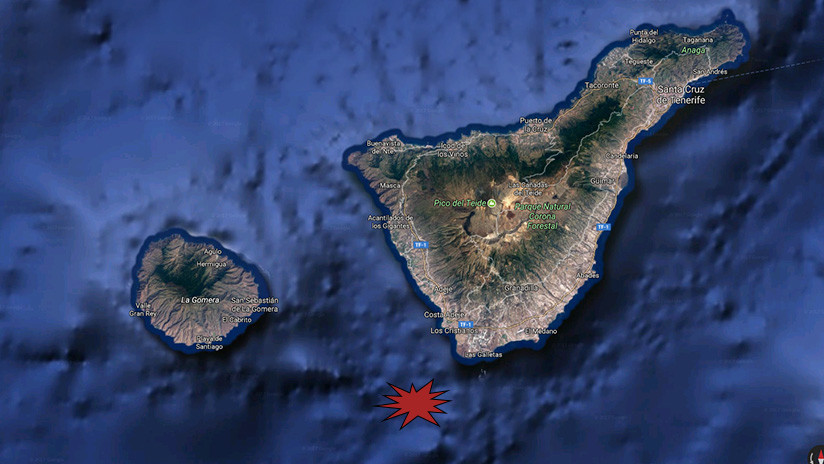 España: Terremoto de magnitud 4,0 sacude la isla de Tenerife