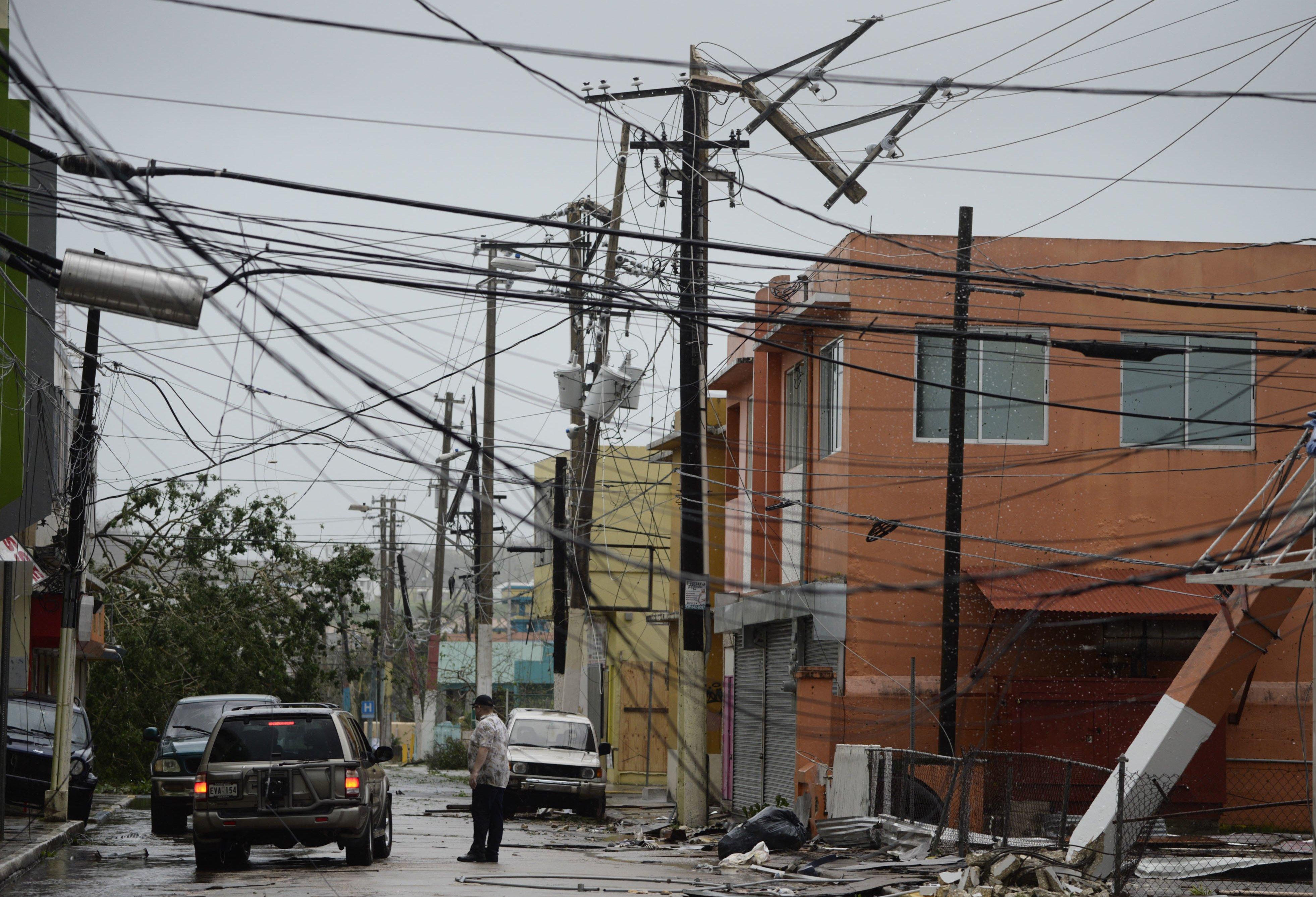 Puerto Rico advierte que registrará falta de liquidez a fin de año por ciclón