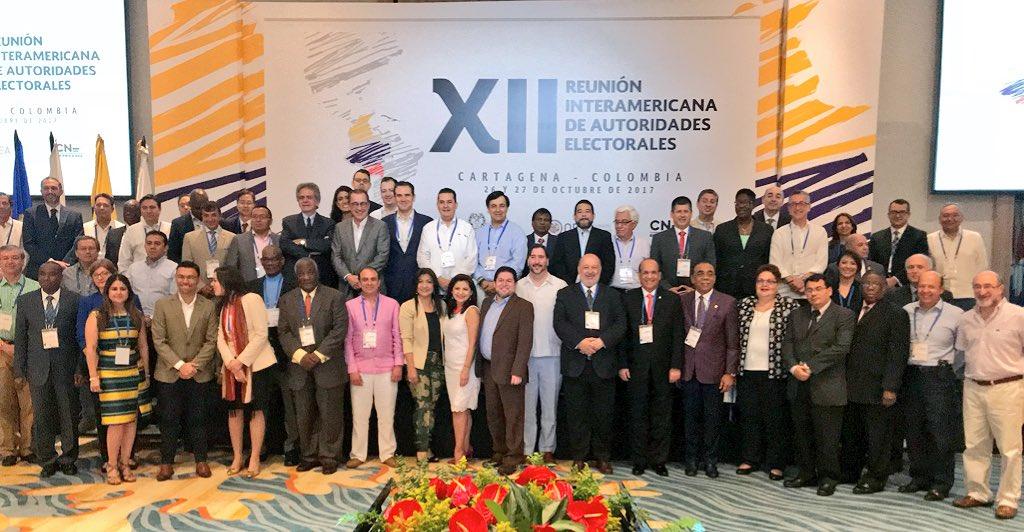 República Dominicana será sede de Reunión Interamericana de Autoridades Electorales de la OEA en 2018