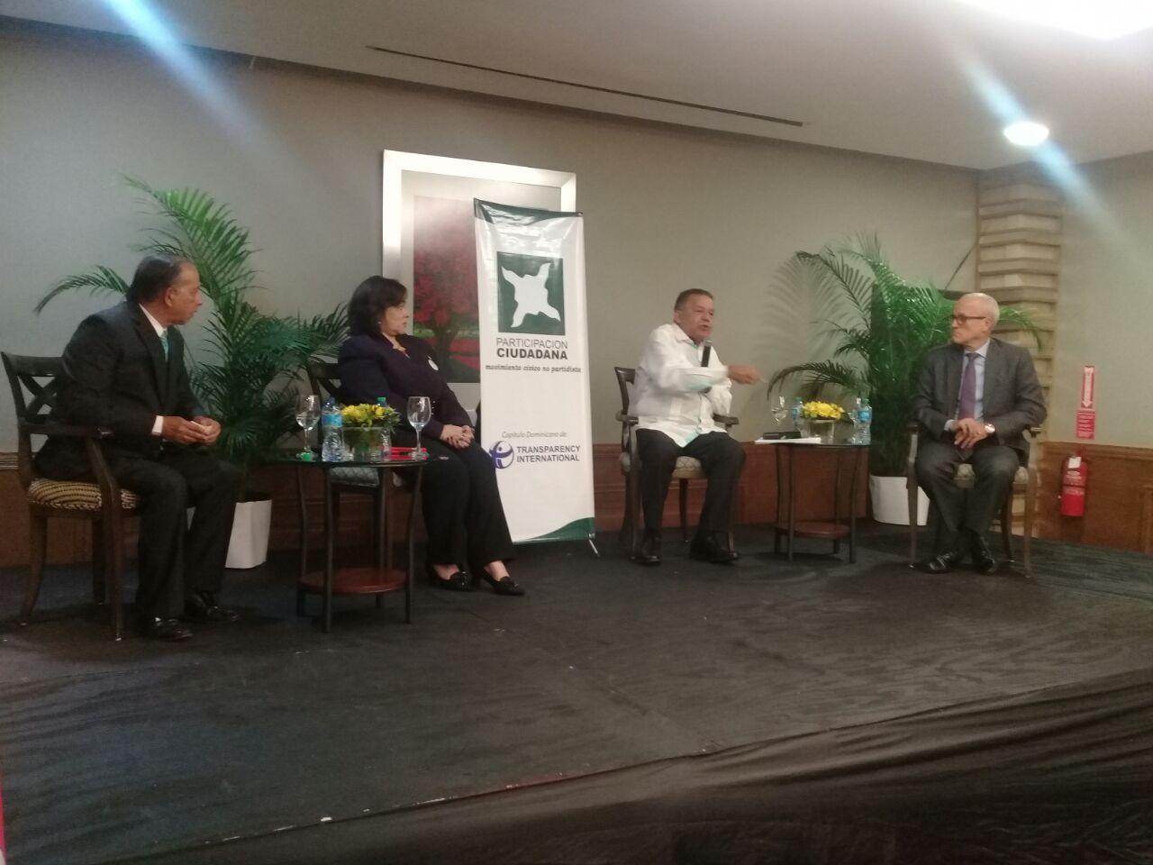 Participación Ciudadana organiza panel