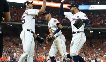 Astros, con Verlander de abridor, buscan coronarse y la gloria