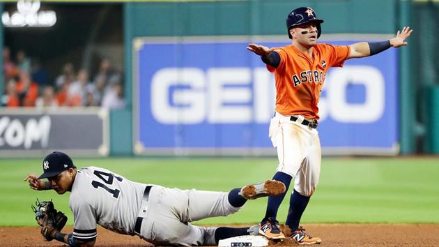 Los Astros toman ventaja al derrotar a los Yanquis