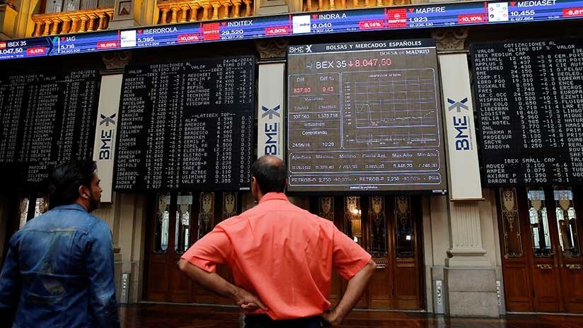 Los bancos catalanes caen con fuerza en la Bolsa de Madrid