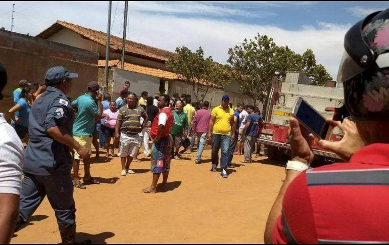 Suben a 9 los muertos, de ellos 7 niños, en incendio en guardería de Brasil