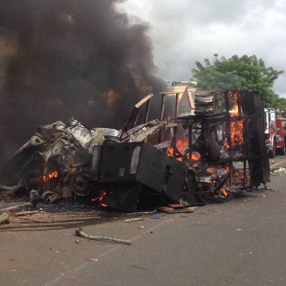 Dos muertos y dos heridos en un accidente en la carretera Nagua-Cabrera