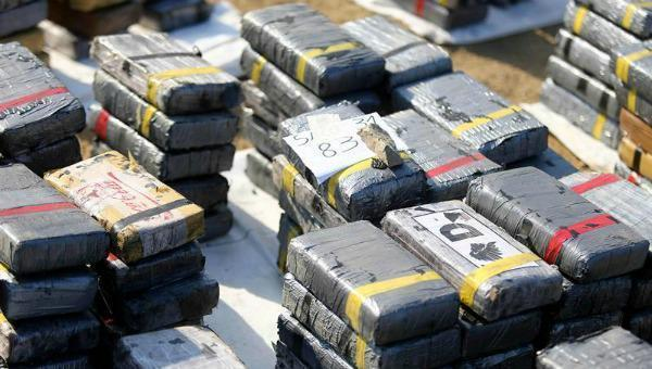 Capturan en Colombia a ocho narcotraficantes que enviaban mensualmente cocaína a EE.UU.